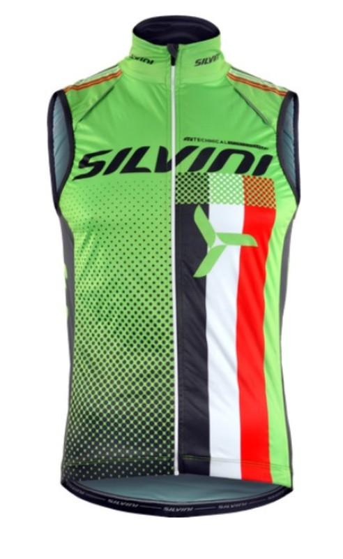 Pánska vesta Silvini TEAM MJ818 green