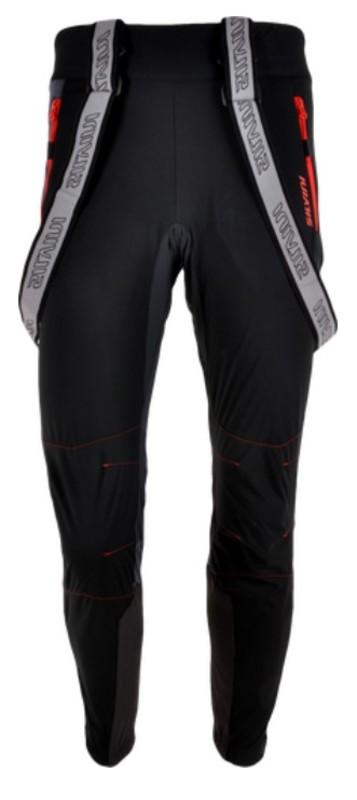 Pánske nohavice na bežky Silvini Mazaro PRO MP1101 black-red XL