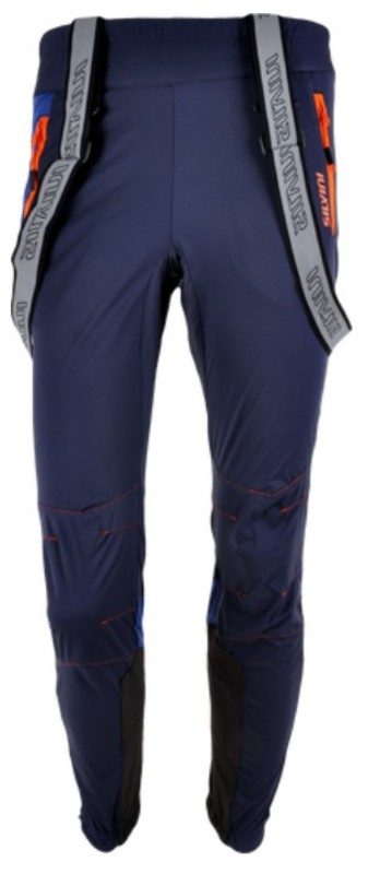 Pánske nohavice na bežky Silvini Mazaro PRO MP1101 navy-ocean S