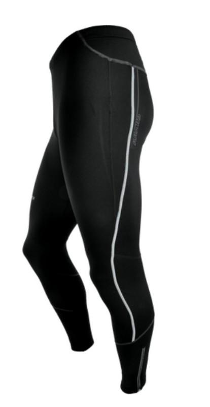 Pánske elastické zateplené nohavice Silvini RUBENZA MP1116 black M