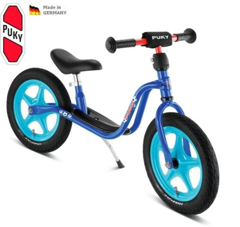 Odrážadlo PUKY Learner Bike Standard LR 1L modrá futbal