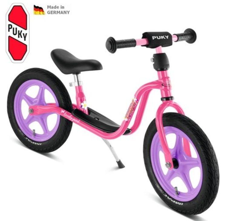 Odrážadlo PUKY Learner Bike Standard LR 1L ružová / fialová