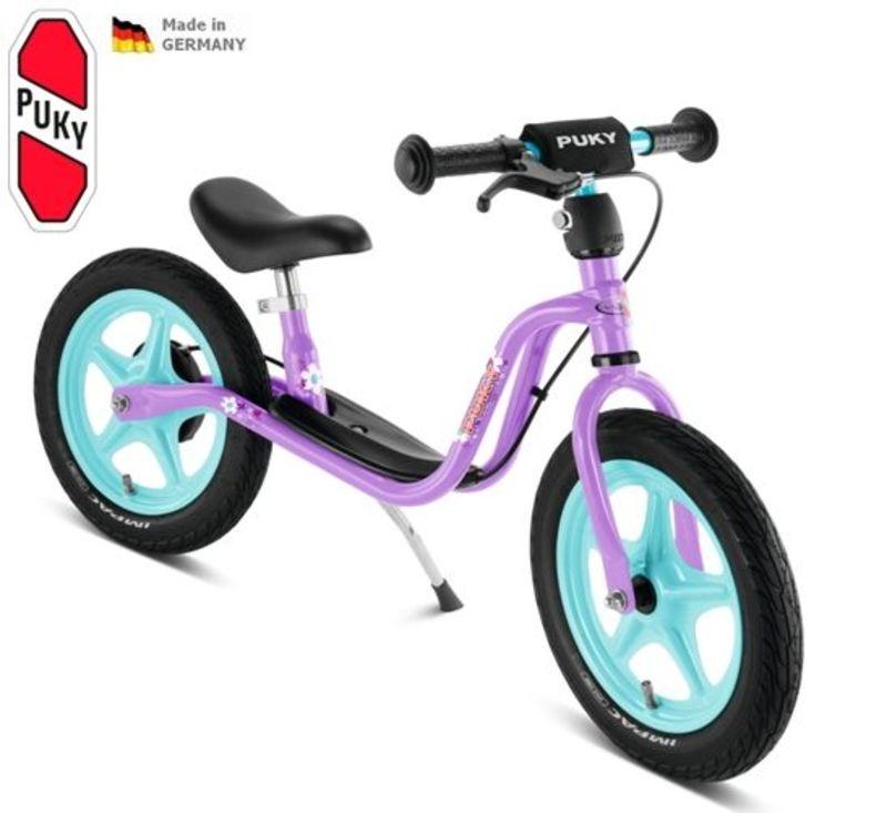 Odrážadlo s brzdou PUKY Learner Bike LR 1 BR fialová