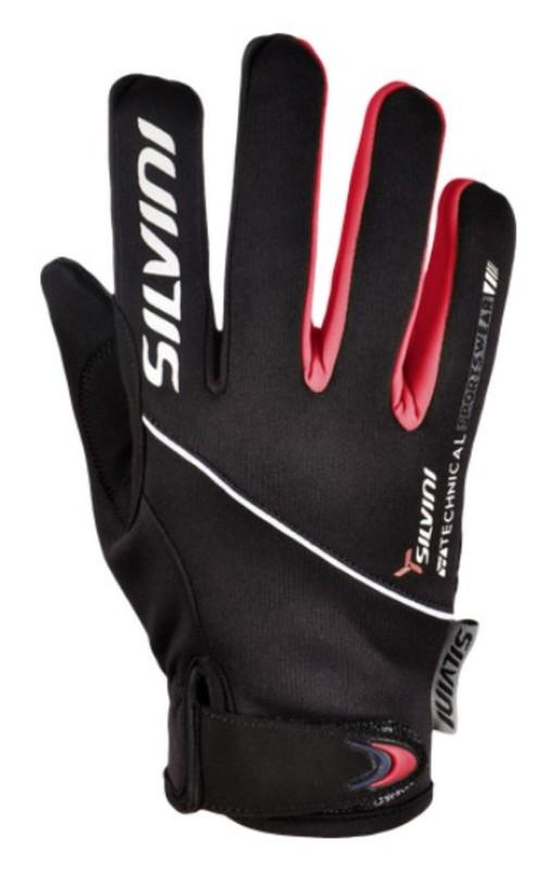 Detské rukavice Silvini Ortles CA1139 black-punch 5-6