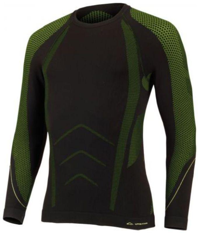 Pánske termo triko Eden 9061 čierna zelená XXS/XS