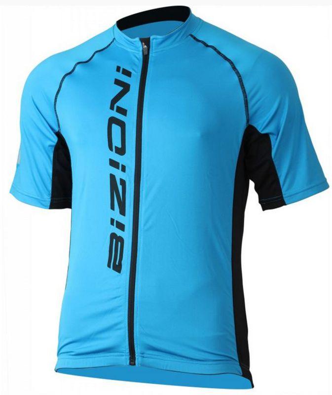 Pánsky cyklistický dres Lasting MD61modrá