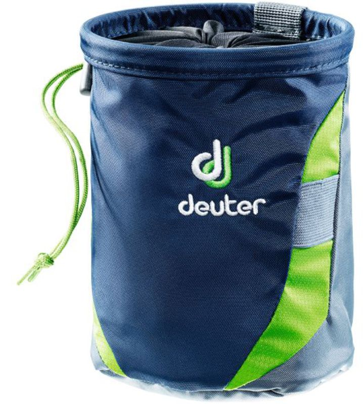 Pytlík na magnézium Deuter Gravity Chalk Bag II L Navy-granite