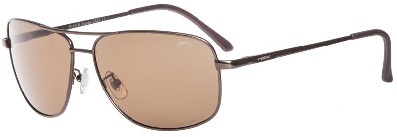 Slnečný okuliare Relax Sando čierne R1127B - C3