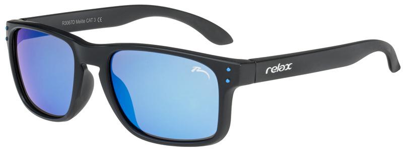 Detské slnečné okuliare RELAX mali biele R3067D