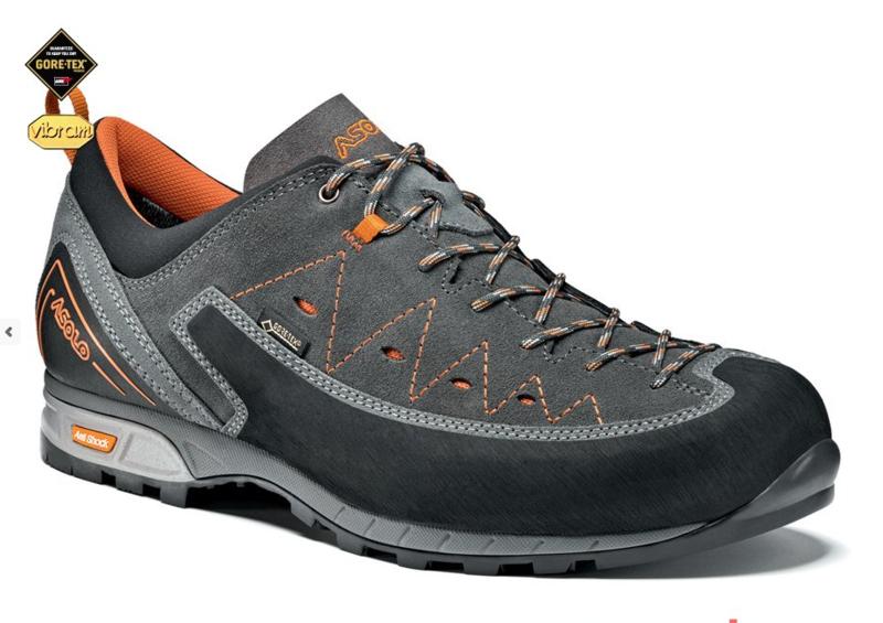 Topánky ASOLO Apex GV A610 Grey / Graphite