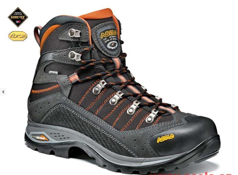 Topánky ASOLO Drifter GV evo Graphite / Black A505