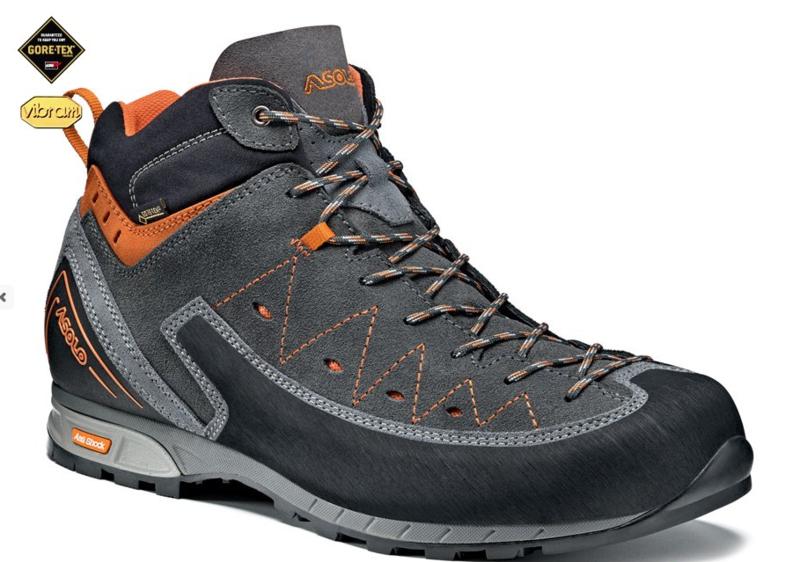 Topánky ASOLO Magnum GV Gray / Graphite A610
