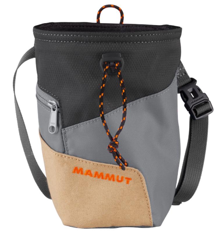 Pytlík na magnézium MAMMUT Rough Rider Chalk Bag Sand 7047