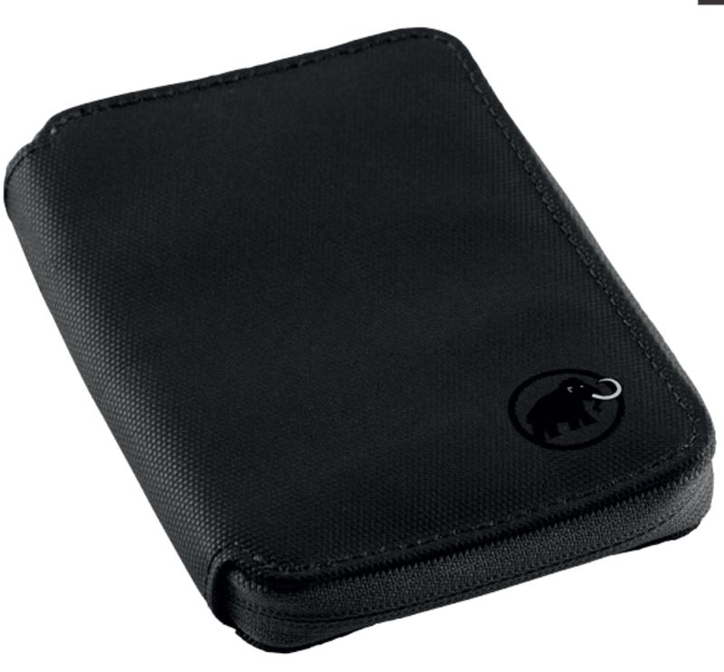 Peňaženka MAMMUT Zips Wallet Black 0001