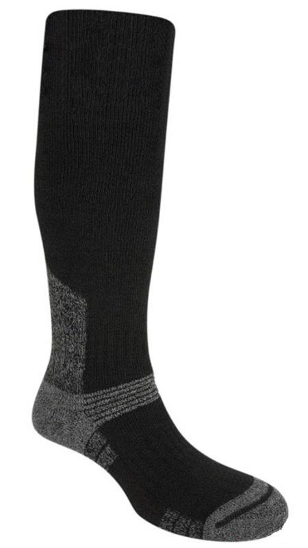 Ponožky Bridgedale Explorer Heavyweight Merino Performance Knee black/818 M (5-6,5)