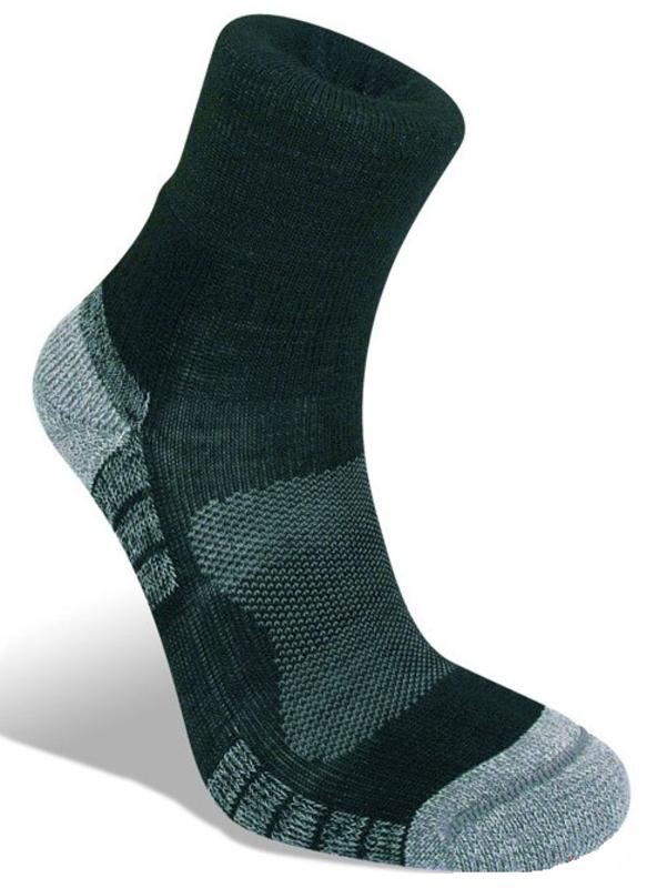 Ponožky Bridgedale Hike Lightweight Merino Performance Ankle black/silver/822 M (5-6,5)