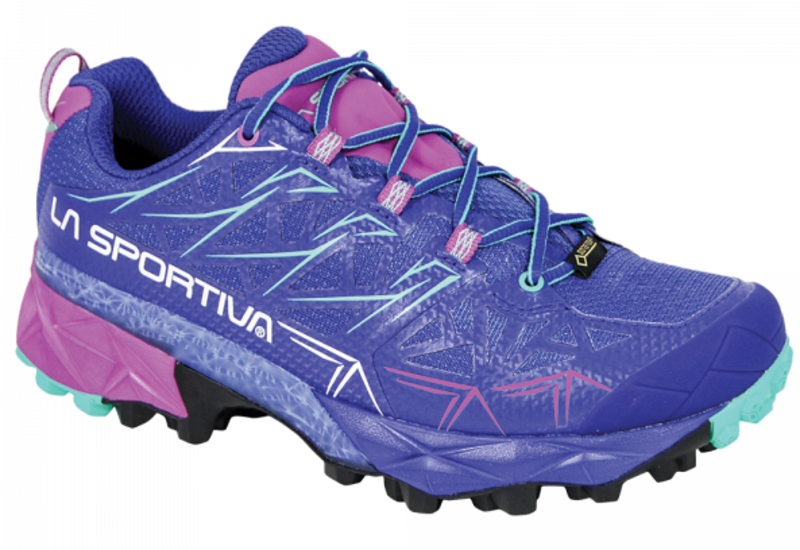 Topánky La Sportiva Akyra GTX Women Iris Blue / Purple 38