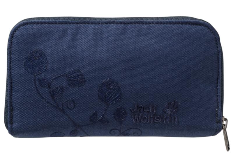 Peňaženka JACK WOLFSKIN Casherella modrá