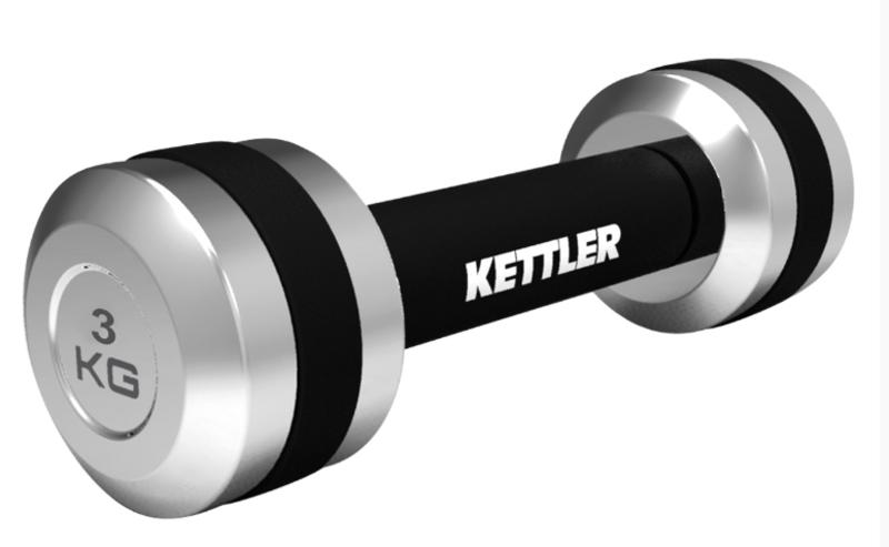 Jednoručná činky Kettler 2 x 3 kg 7371-050