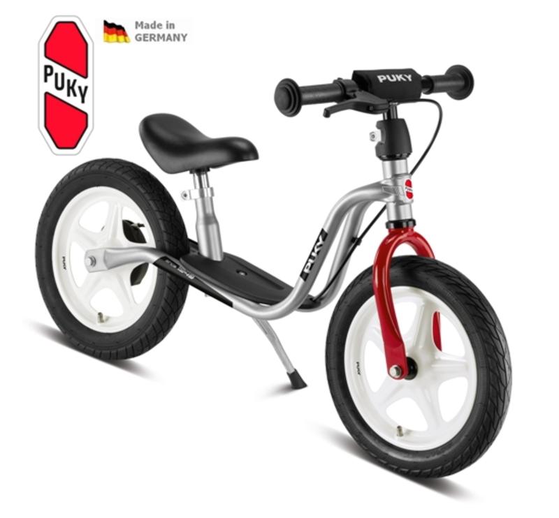 Odrážadlo PUKY Learner Bike Standard LR 1L strieborno / červená