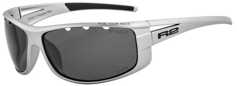 Športové slnečné okuliare R2 Buzz šedé AT081C