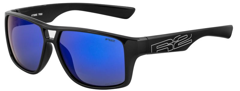Športové slnečné okuliare R2 MASTER čierne AT086E