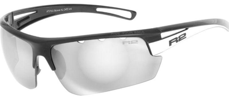 Športové slnečné okuliare R2 SKINNER XL čierne AT075G f9e6549a5f2