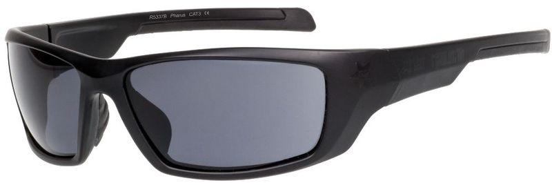 Športové slnečné okuliare RELAX Pharus čierne R5337B