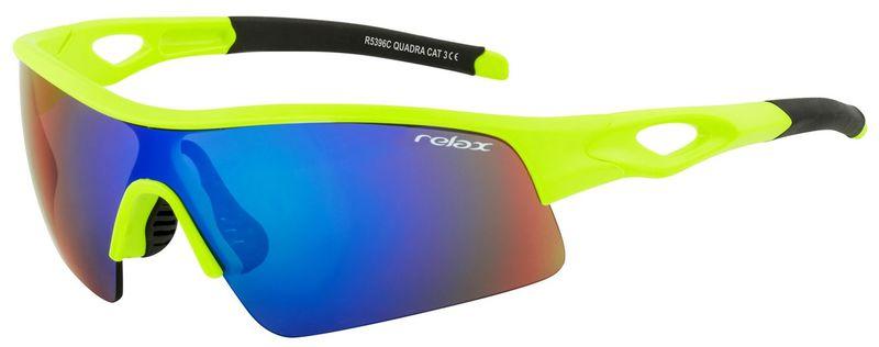 Športové slnečné okuliare RELAX Quadra zelené R5396C