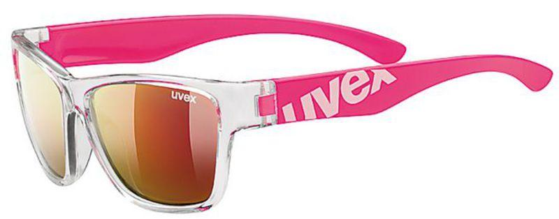 Slnečný okuliare Uvex Sportstyle 508 Clear Pink / Mir. Red (9316)