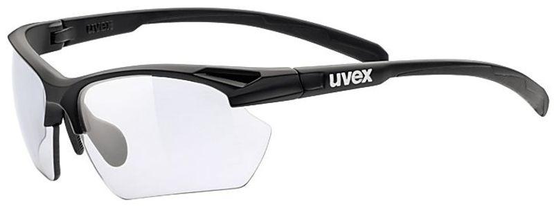 Športové okuliare Uvex Sportstyle 802 Small Vario, Black Mat (2201)