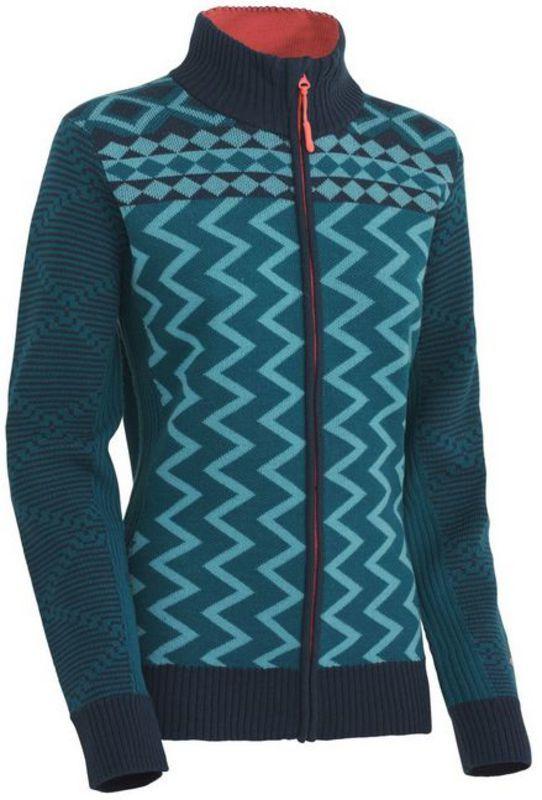 Vlnený sveter Kari Traa Vinje F/Z Knit NSEA XS