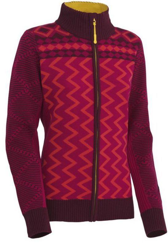Vlnený sveter Kari Traa Vinje F/Z Knit RUBY XS