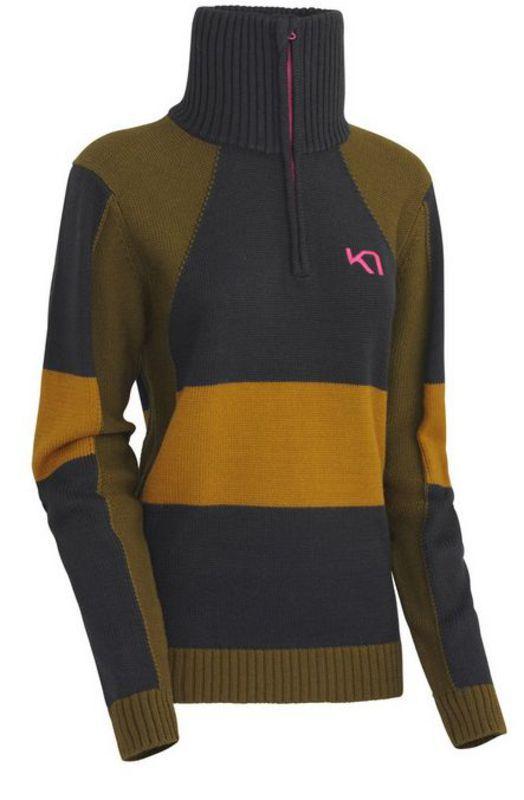Vlnený sveter Kari Traa Vossa Knit EBONY XS