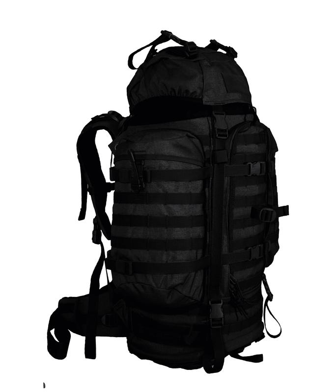 Batoh Wisport ® Wildcat 55l - čierny