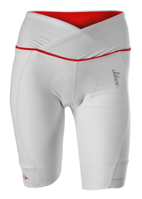 20d6b037098a9 Dámske cyklistické nohavice Silvini TINELLA WP1009 white-red