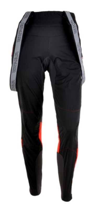 Dámske nohavice na bežky Silvini Ovesca Pro WP1103 black-red L