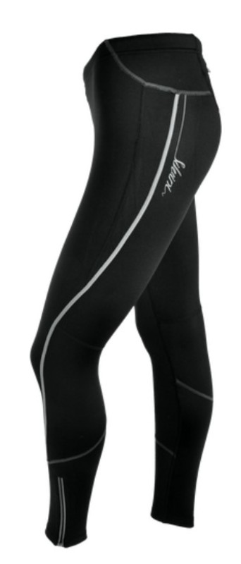 Dámske elastické zateplené nohavice Silvini RUBENZA WP1120 black L