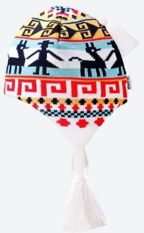 Detská pletená Merino čiapka Kama B82 100