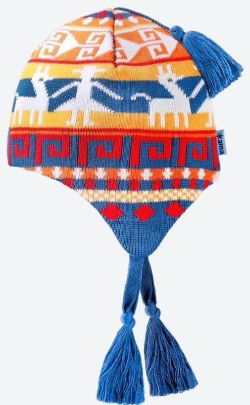 Detská pletená Merino čiapka Kama B82 107