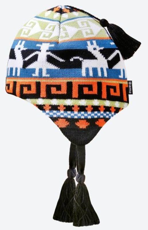 Detská pletená Merino čiapka Kama B82 110