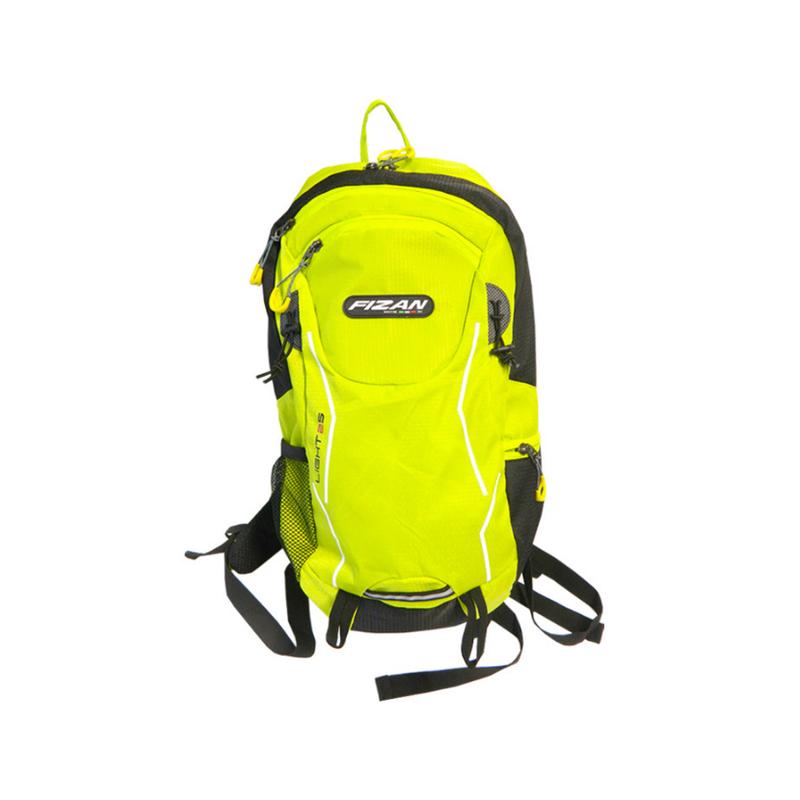Turistický batoh FIZAN Light 25l reflexná zelená