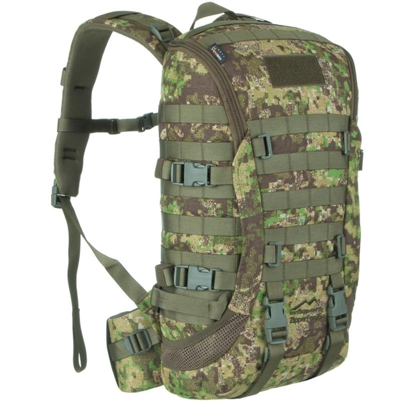 Batoh Wisport® ZipperFox 25 olivovo PenCott ™ GreenZone