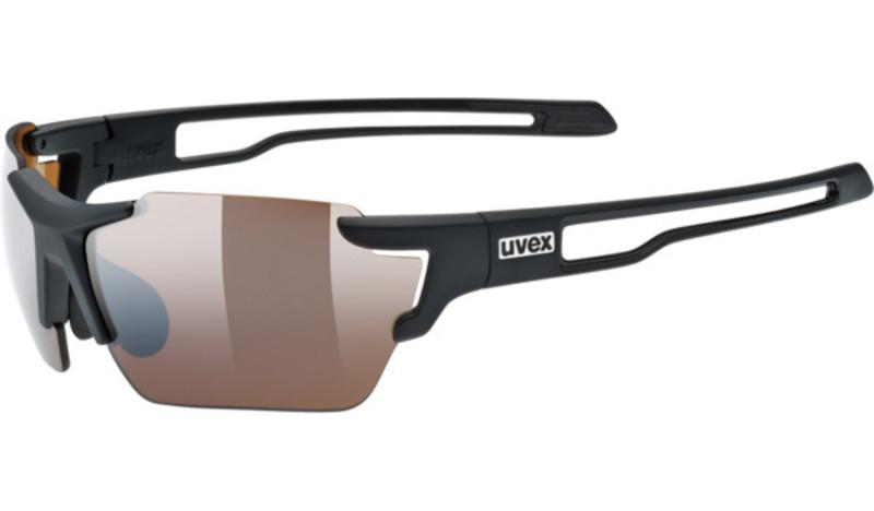 Športové okuliare Uvex SPORTSTYLE 803 SMALL CV (ColorVision), Black Mat (2291)