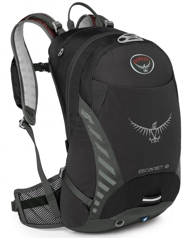 Batoh Osprey Escapist 18 Black S/M
