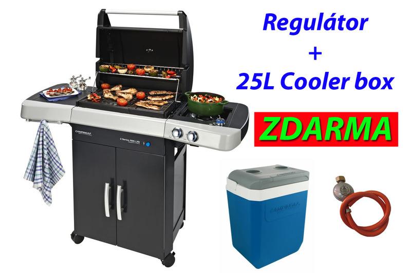 Gril Campingaz 2 Series RBS® LXS + Box 25L + Regulátor