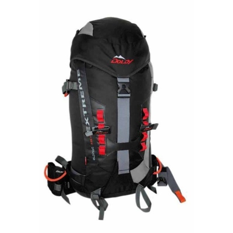 Batoh DOLDY Alpinist Extreme 28+8l čierny