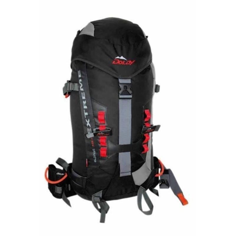 Batoh DOLDY Alpinist Extreme 38+10l čierny