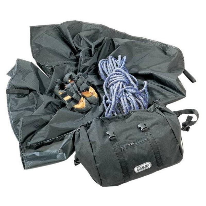 Vak na horolezecké vybavenie DOLDY Climbing Bag čierny