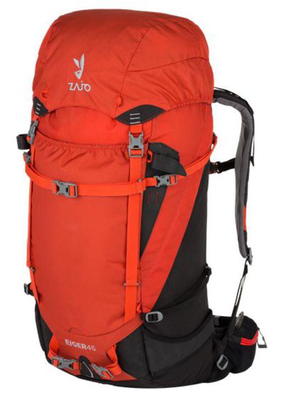 Batoh Zajo Eiger 45 Red-Black M